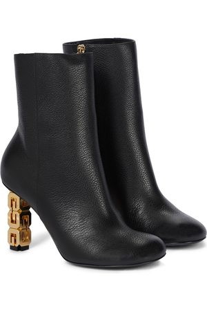 Givenchy G Cube leather ankle boots