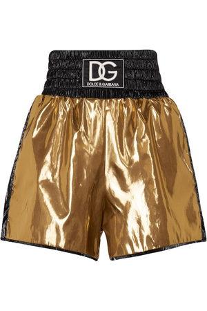 Dolce & Gabbana High-rise nylon shorts