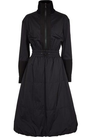 Moncler High-neck nylon dress