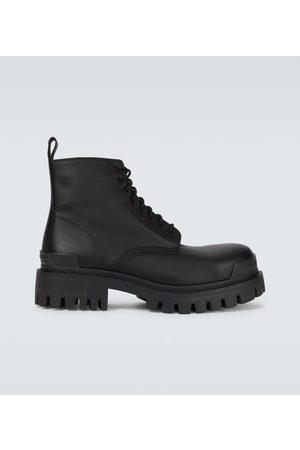 Balenciaga Strike leather boots