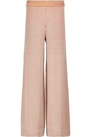 Missoni Ribbed-knit wool-blend pants