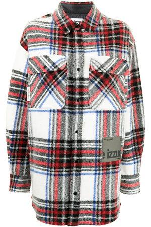 Izzue Oversized tartan shirt