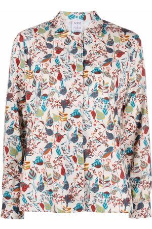 SARA ROKA Savoia cotton shirt