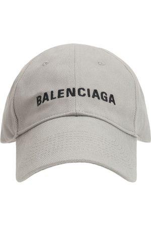 Balenciaga Men Hats - Logo Embroidery Baseball Cap