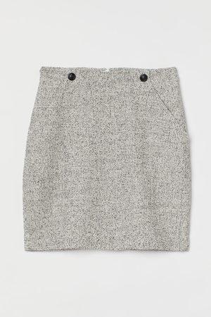 H&M Bouclé skirt