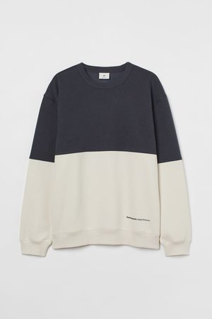 H&M Relaxed Fit Sweatshirt - Grey