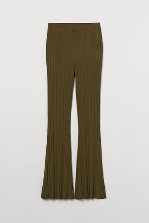 H&M Ribbed trousers