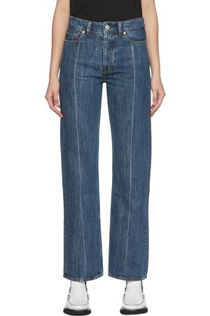 Our Legacy Women Straight - Linear Cut Straight-Leg Jeans
