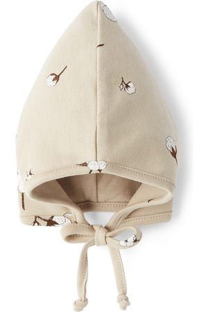 Organic Zoo Baby Taupe Pixie Bonnet