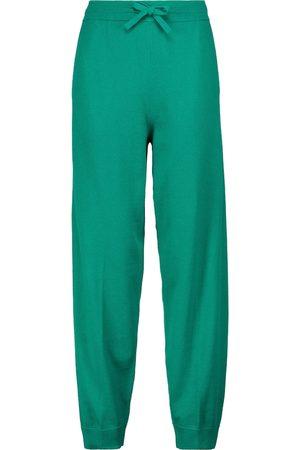 Isabel Marant Kira cotton and wool-blend sweatpants