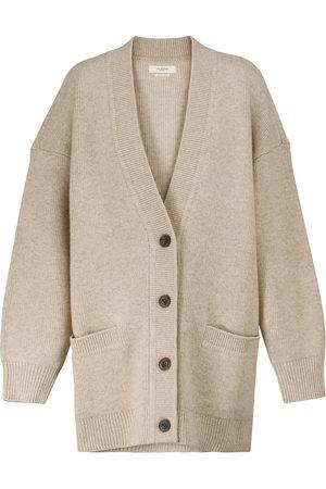Isabel Marant Women Cardigans - Leane wool-blend cardigan