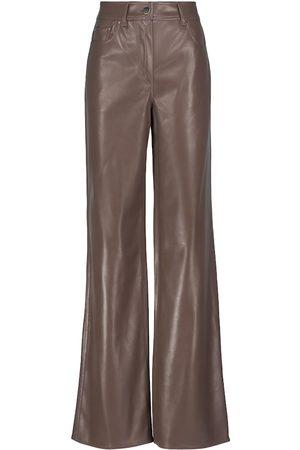 Stand Studio Aisha flared faux leather pants