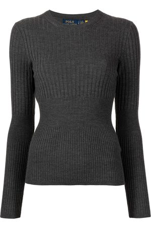 Polo Ralph Lauren Ribbed-knit long-sleeve top