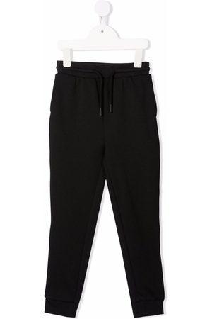 Calvin Klein Logo-tape drawstring-waist track trousers