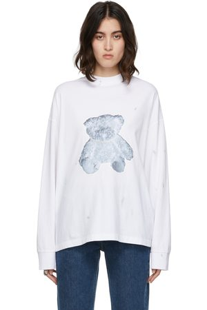 We11 Done Pearl Teddy Long Sleeve T-Shirt