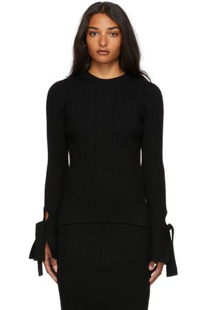 3.1 Phillip Lim Ribbed Long Sleeve Cuffed Sweater