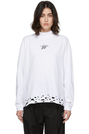 We11 Done High Neck Long Sleeve T-Shirt