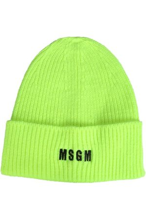Msgm MEN'S 3140ML0421778007 OTHER MATERIALS HAT