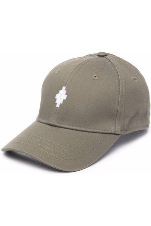 MARCELO BURLON Boys Hats - Embroidered-logo baseball cap