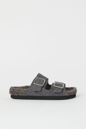 H&M Slippers - Grey
