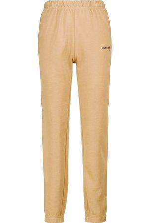 Adam Selman Sport Cozy cotton-blend sweatpants