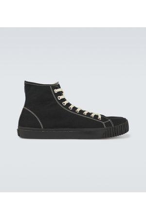Maison Margiela High-top Tabi canvas sneakers