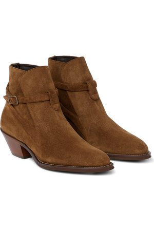 Saint Laurent Women Ankle Boots - Eastwood suede ankle boots