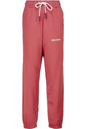 Palm Angels Logo cotton sweatpants