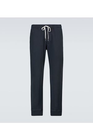 Tom Ford Men Sports Trousers - Cotton sweatpants