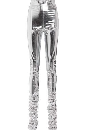 Dolce & Gabbana High-rise jersey-blend leggings