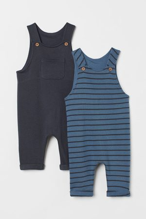 H&M 2-pack cotton dungarees