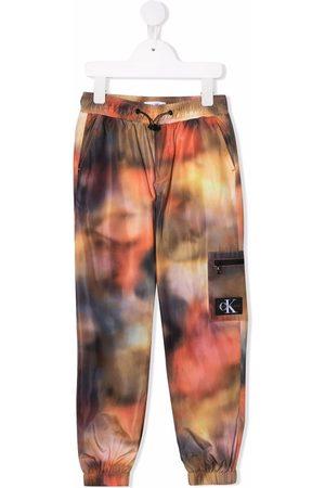 Calvin Klein Blurred print joggers