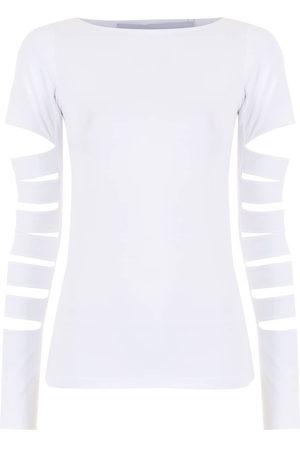 Gloria Coelho Cut-out detail T-shirt
