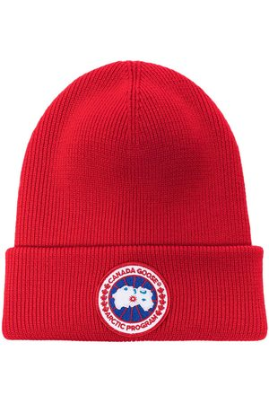 Canada Goose Arctic ribbed-knit beanie