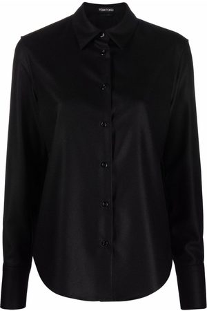 Tom Ford Long-sleeve cashmere shirt