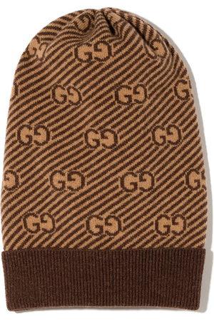 Gucci GG logo wool beanie