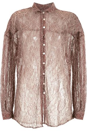 Olympiah Sheer lace shirt