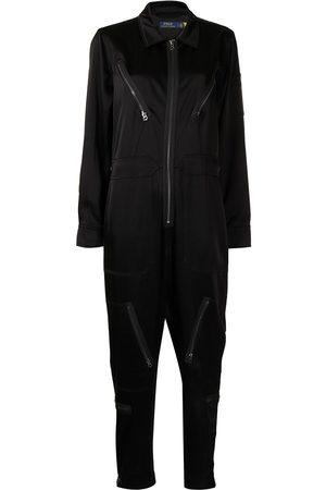 Polo Ralph Lauren Long-sleeve flight jumpsuit