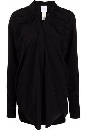 Patou Women Long Sleeve - Ruched-detail shirt