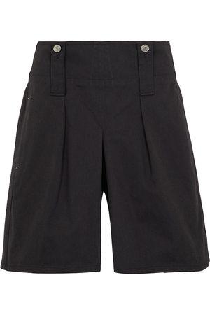 Isabel Marant Dicochia wide-leg cotton shorts