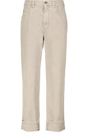 Brunello Cucinelli Mid-rise straight jeans