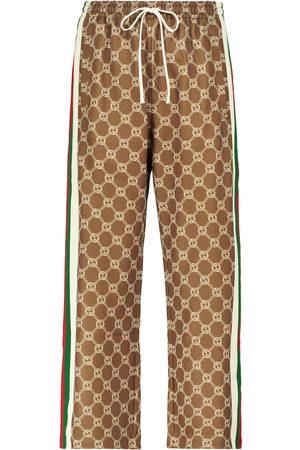 Gucci Interlocking G cropped sweatpants