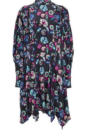 Isabel Marant Verikio floral silk minidress