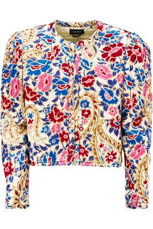 Isabel Marant Marjorie floral velvet jacket