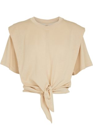 Isabel Marant Zelikia knotted cotton T-shirt