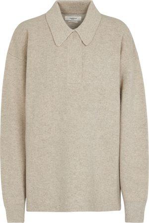 Isabel Marant Women Polo Shirts - Lark wool-blend polo sweater
