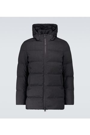 HERNO Technical down-filled coat