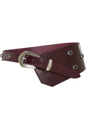 Isabel Marant Belly embellished leather belt