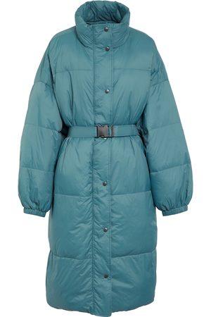 Isabel Marant Driesta belted puffer coat