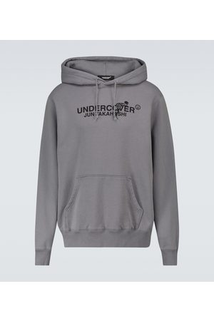 UNDERCOVER Men Sweatshirts - Cotton hooded sweatshirt